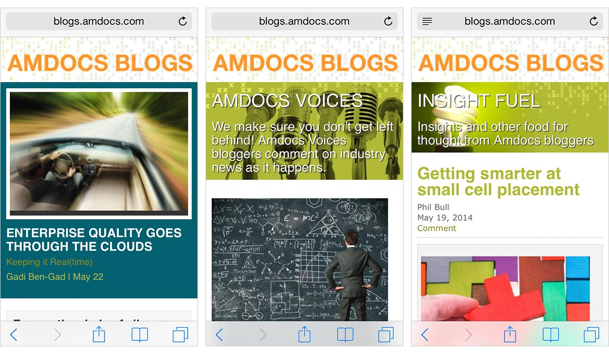 Amdocs Blogs