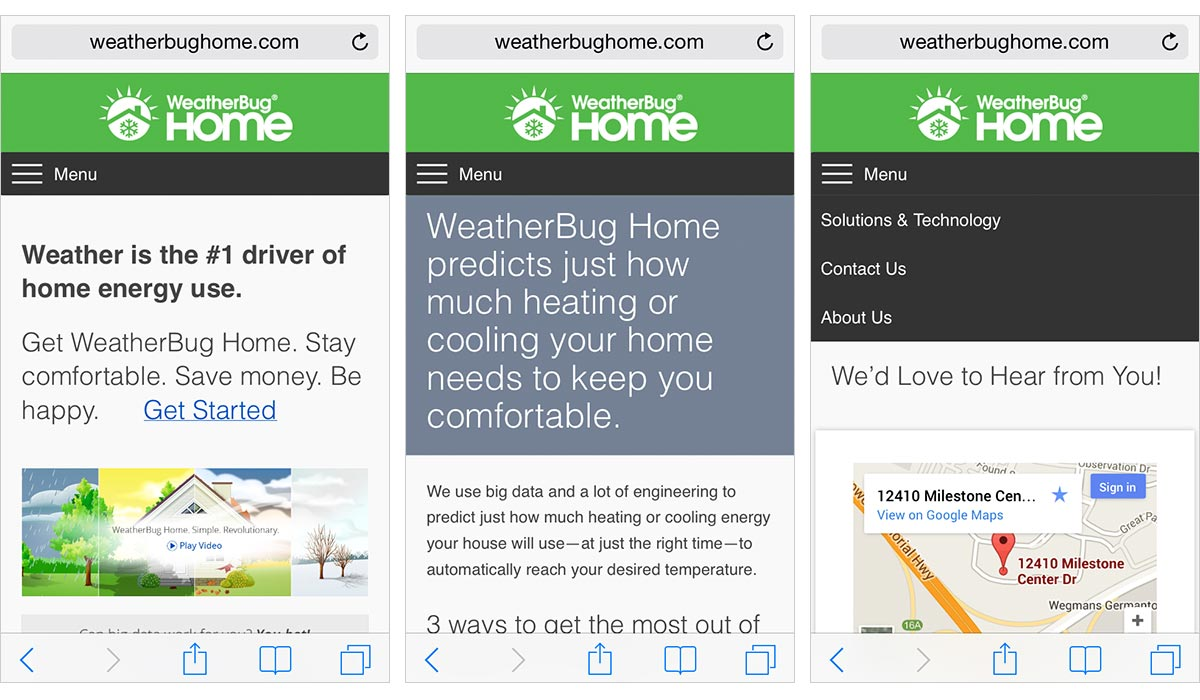 WeatherBug Home